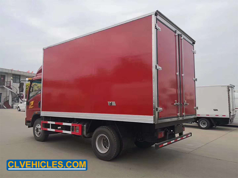 HOWO 5ton Small Thermo King Freezing Cold Delivery Truck