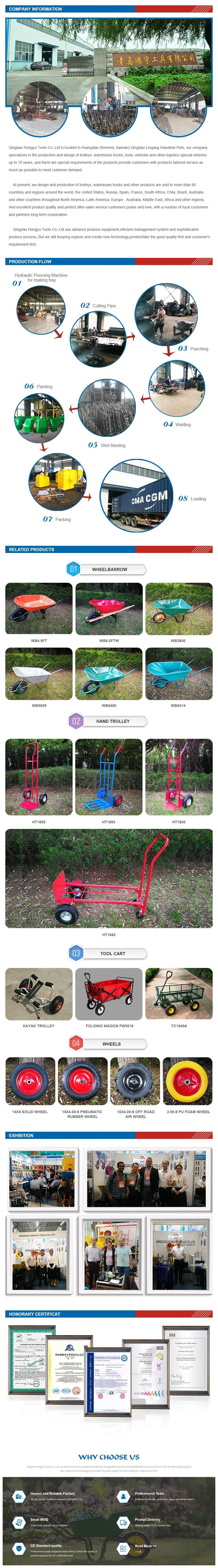 Extra Heavy Duty Folding Hand Trolley with Toe Plate Extension