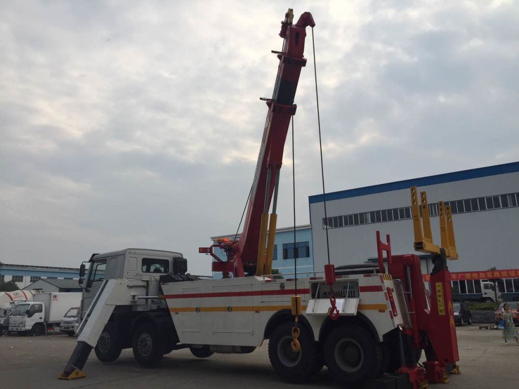 HOWO Heavy Duty Emergency Recovery Tow Truck