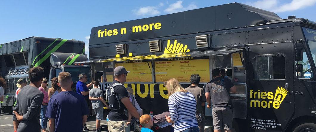 Mobile Fast Food Vending Trailer / Truck / Van