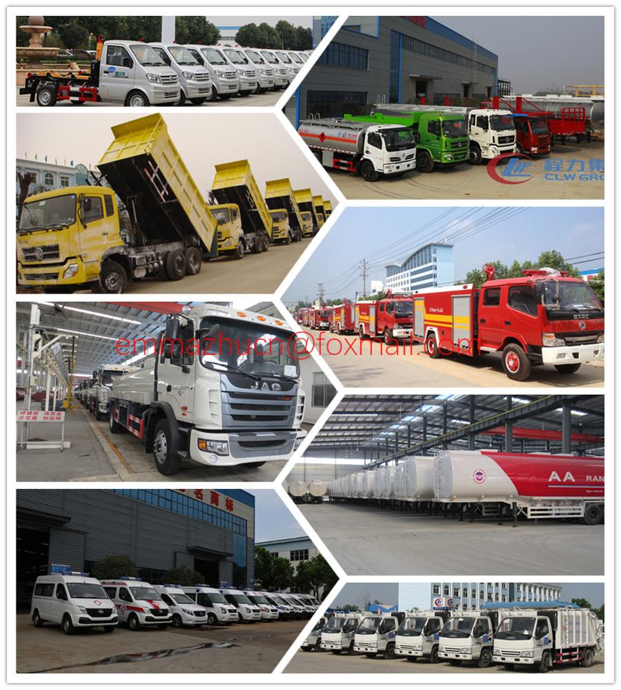 Good Quality 4X2 4X4 5tons 6tons 7tons 8tons 10tons Foton Forland Dump Truck Tipper