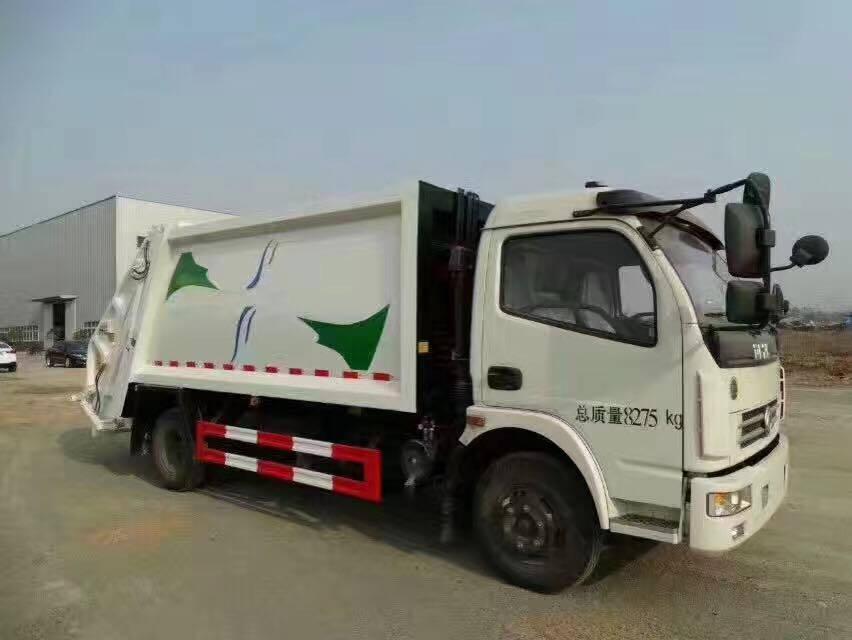 Do<em></em>ngfeng 4X2 Waste Collector Truck Compssed Garbage Truck