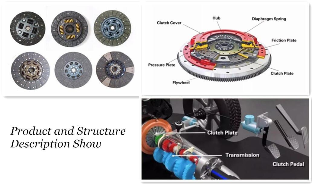 Wholesale Low Price Clutch Disc of Parts Assembly MD739840 MD741324 MR111343 MR111650