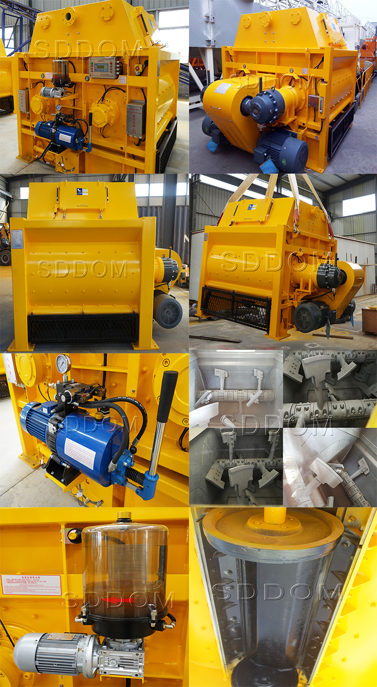 High Quality Js500 and Js750 Concrete Mixer Price with Ce(图2)