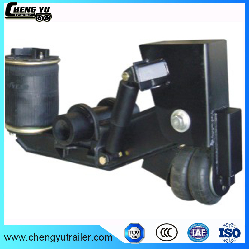 American Type Air Suspension with Drum Brake Axle for Semi Trailer