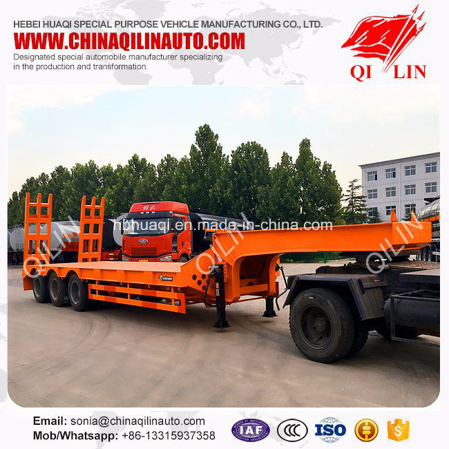 Low Bed Trailer with 28t Standard Lading Gear
