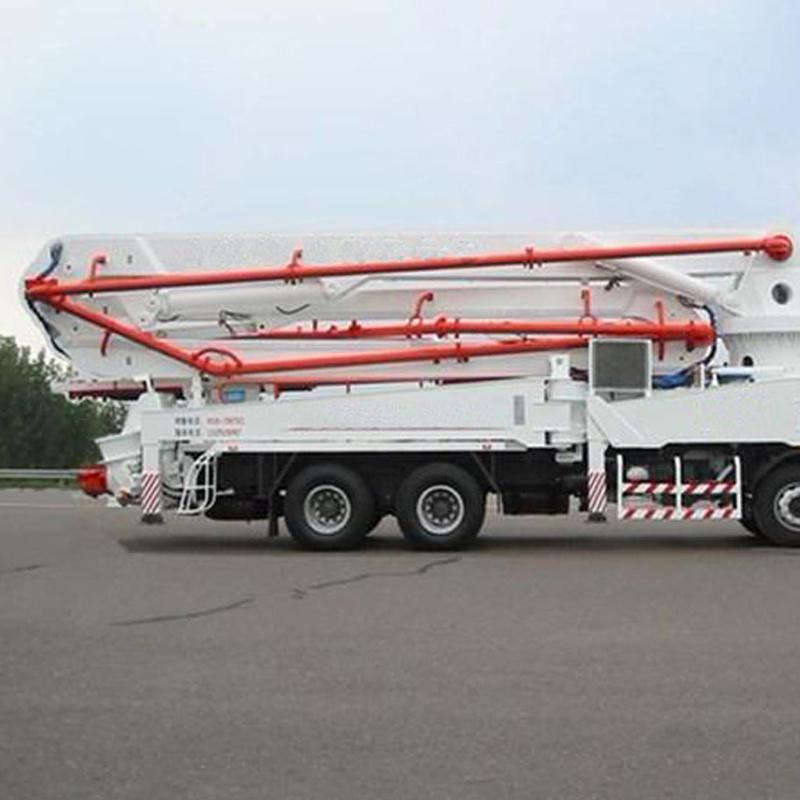 China 42m/45m Co<em></em>nstruction Boom Co<em></em>ncrete Pump Placing Truck