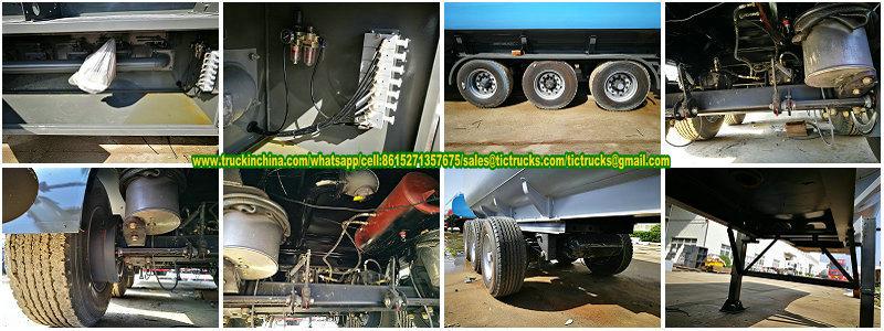 3 Axles Diesel Tank Trailer