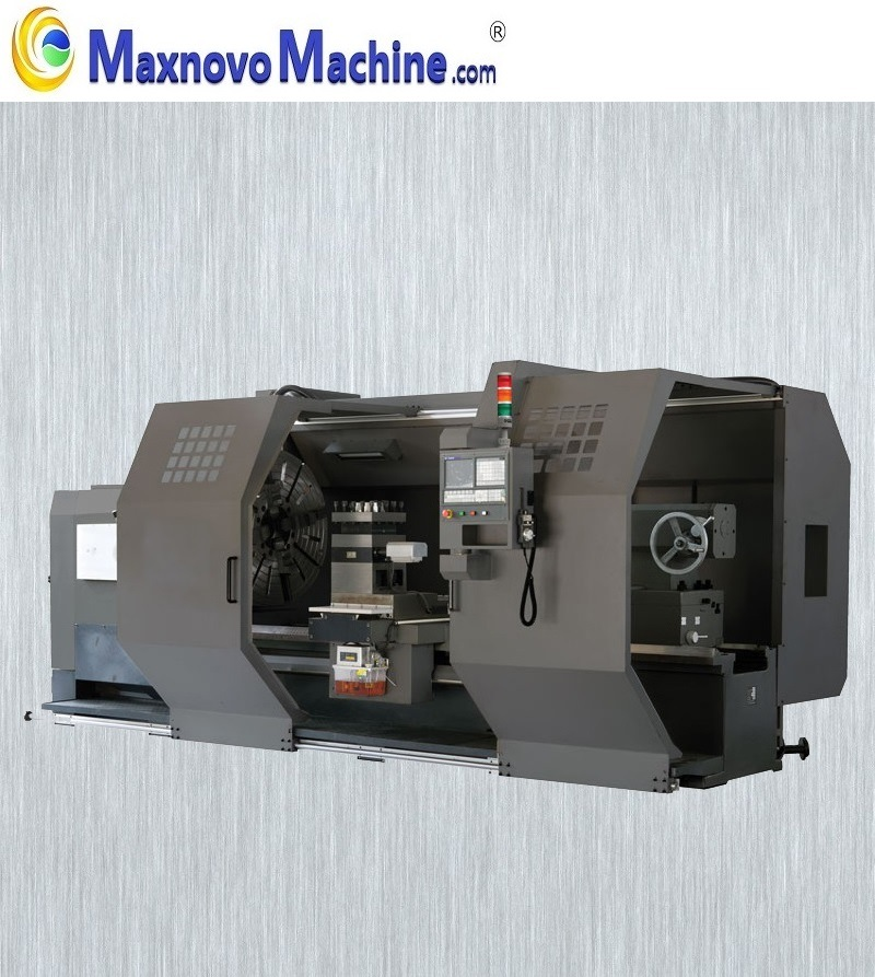 Universal Horizontal Heavy Duty Gap Bed CNC Lathe (DLE-CNC 500)(图1)