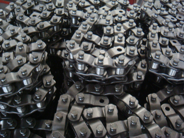 Heavy Duty Forged Offset Sidebar Transmission Drive Roller Chain