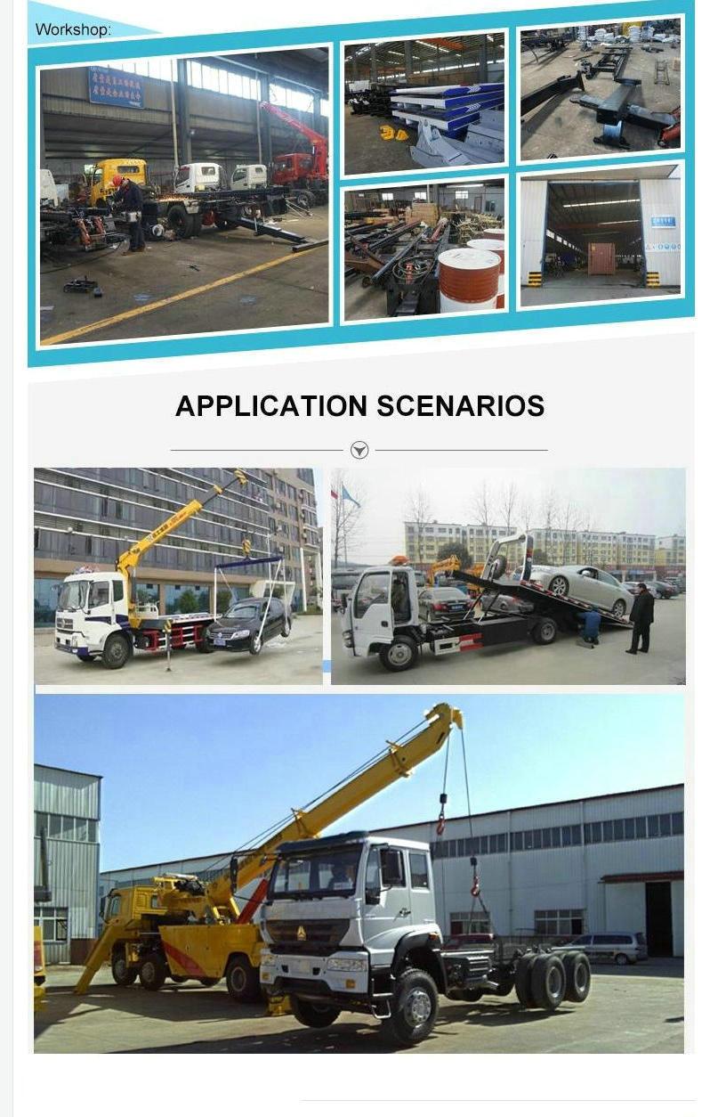 Shacman Heavy Duty Rotator Wrecker for Towing 50 Ton Truck Boom Lifting 25 Ton 12 Wheels
