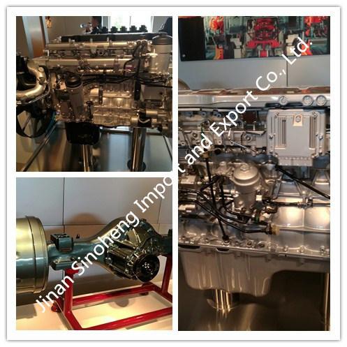 Sinotruk HOWO 371HP Engine Power 6X4 Tractor Truck