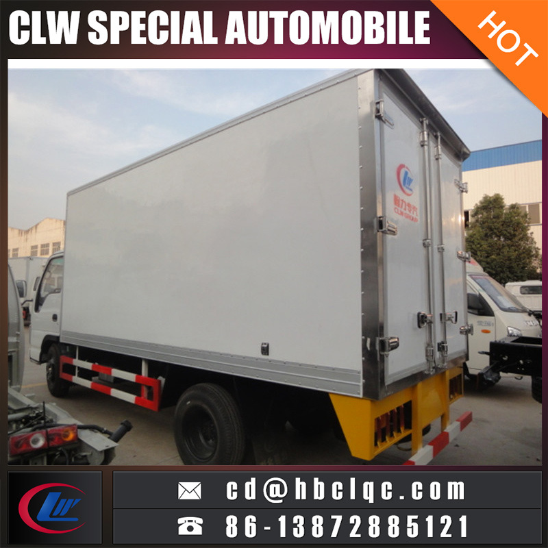 Small 12m3 Refrigerated Truck Box Body Refrigeration Truck Container