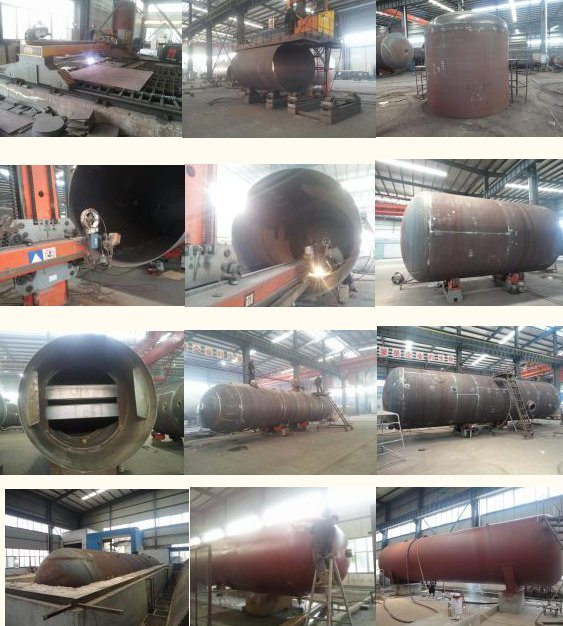 35.5m3 Propane Tanker Truck LPG Gas Delivery Truck