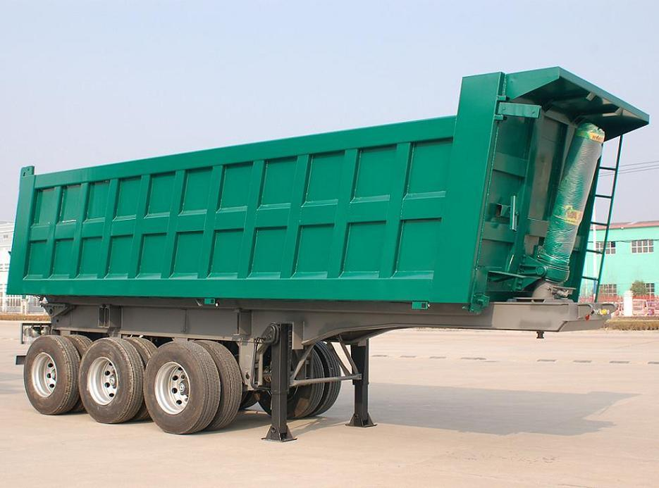 20000USD 3 Axle Dump Trailer for Sell