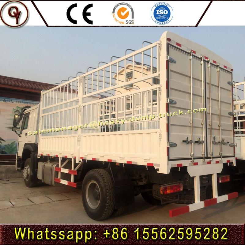 HOWO 8X4 Euro 3 Emission 30 Tons Stake Box Truck