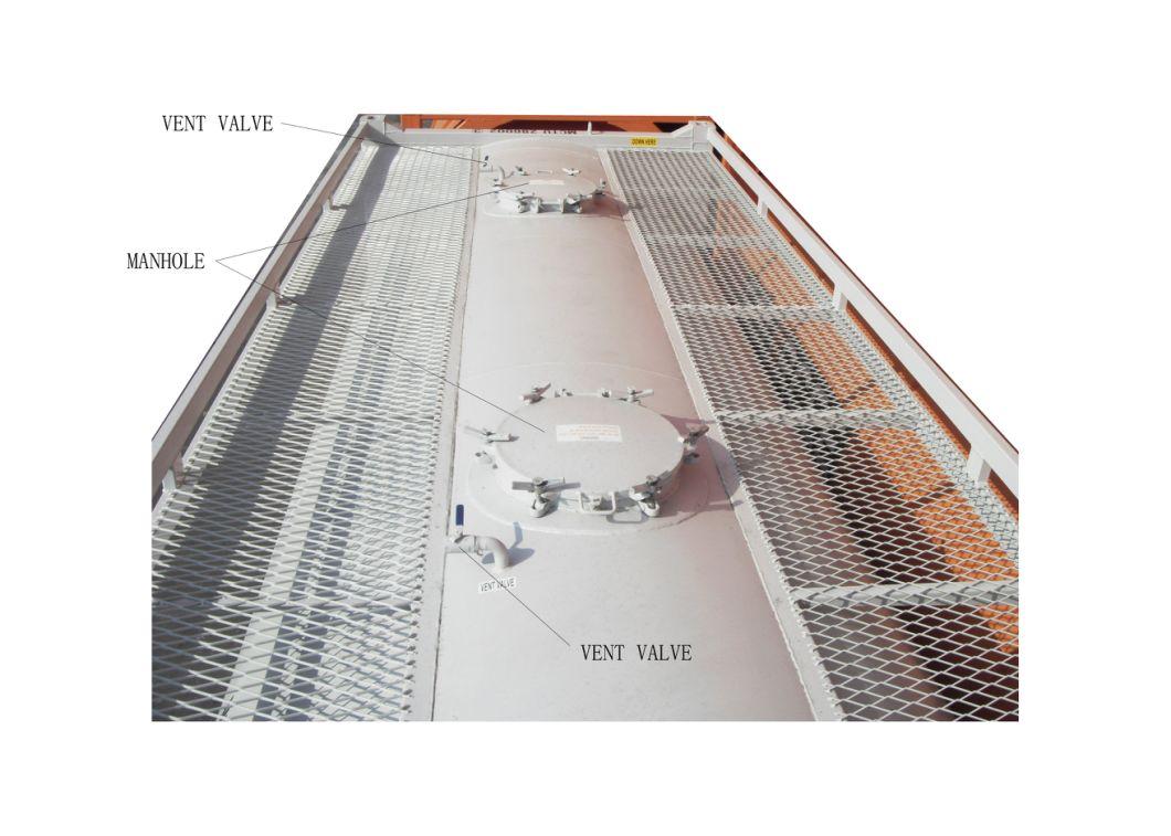 Bulk Cement ISO Tank Co<em></em>ntainer 20FT Customize with Air Pump Transportation of Bulk Cement/Flour/Coal/Plaster etc. Powder
