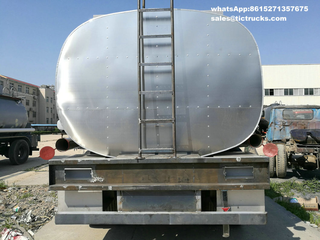 Tri Axles Emulsion Tank Trailer for Liquid Molten Sulfur (Road Tanker) Transport Solution