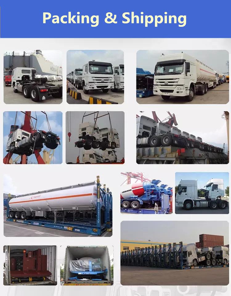 China Manufacturer 56m3 3 Axles Large LPG Propane Tanker Semi Trailer for Africa