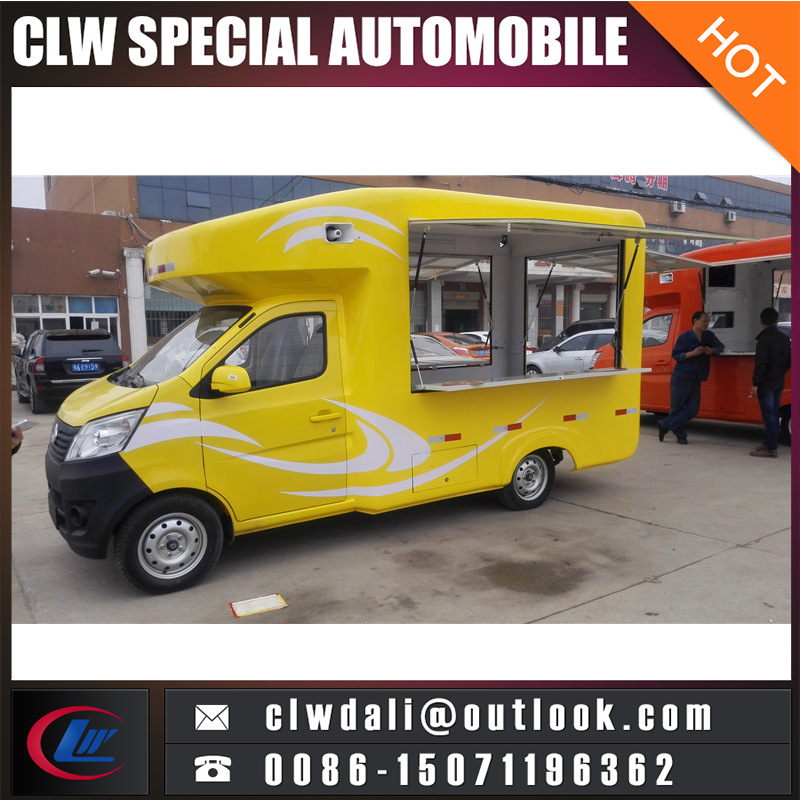 Food Truck Fast Food Vanmobile Food Truck For Fried Chicken Beer