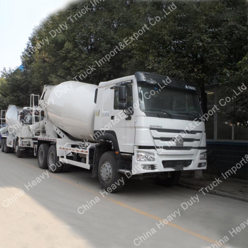 Sinotruk HOWO 9m3 Co<em></em>ncrete Mixer Truck for Cement Plant