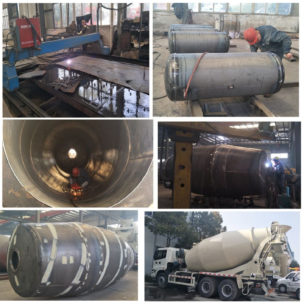 Sinotruk HOWO 6X4 8cbm /10cbm /12cbm Co<em></em>ncrete Mixer Truck Transit Mixer