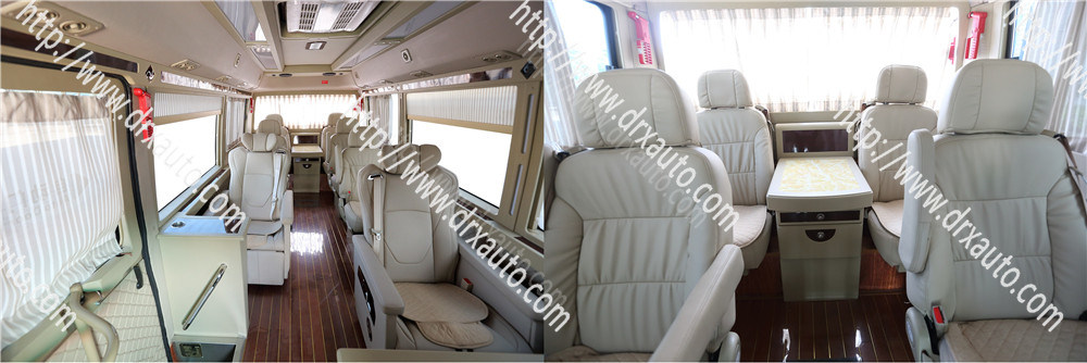 Mudan 152HP Toyota Coaster Copy 27 Seats Mini Bus