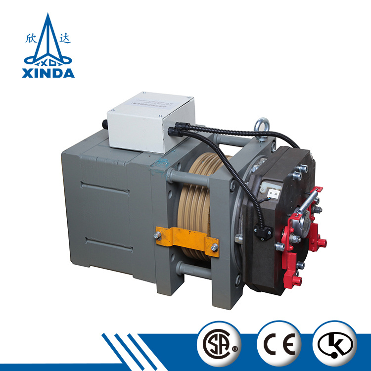 2018 Residential Lift Motor Gearless Traction Motor for Elevator