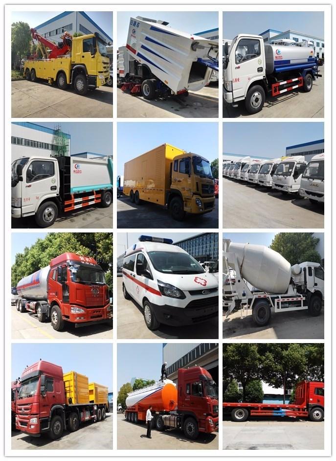 4*2 Food Refrigerator Truck, Frozen Meat Transportation Truck, Refrigerator Van Truck with Cold Room for Sale