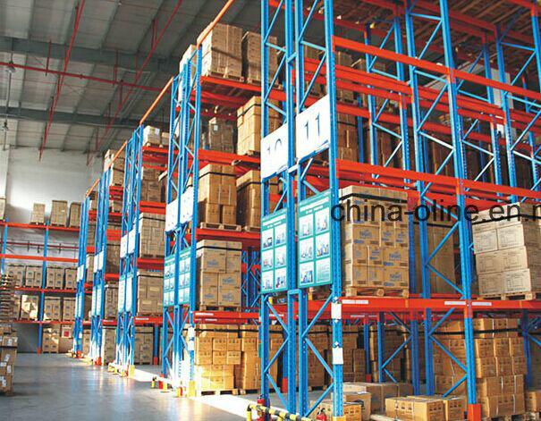 me<em></em>tal Pallet Display Rack for Warehouse Storage