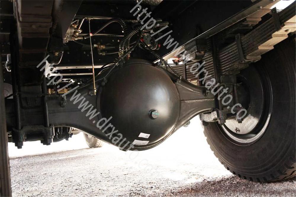 4X2 8 Ton 180HP Crane Type Wrecker Truck