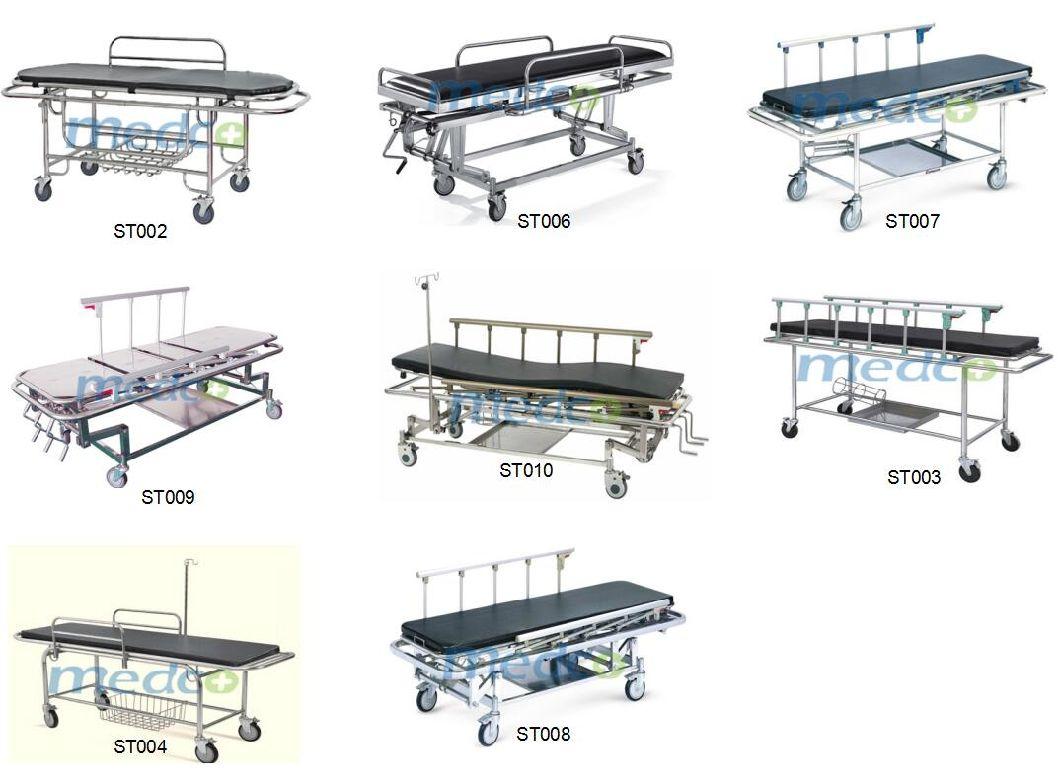 Stainless Steel Manual Hospital Emergency Ambulance Transfer