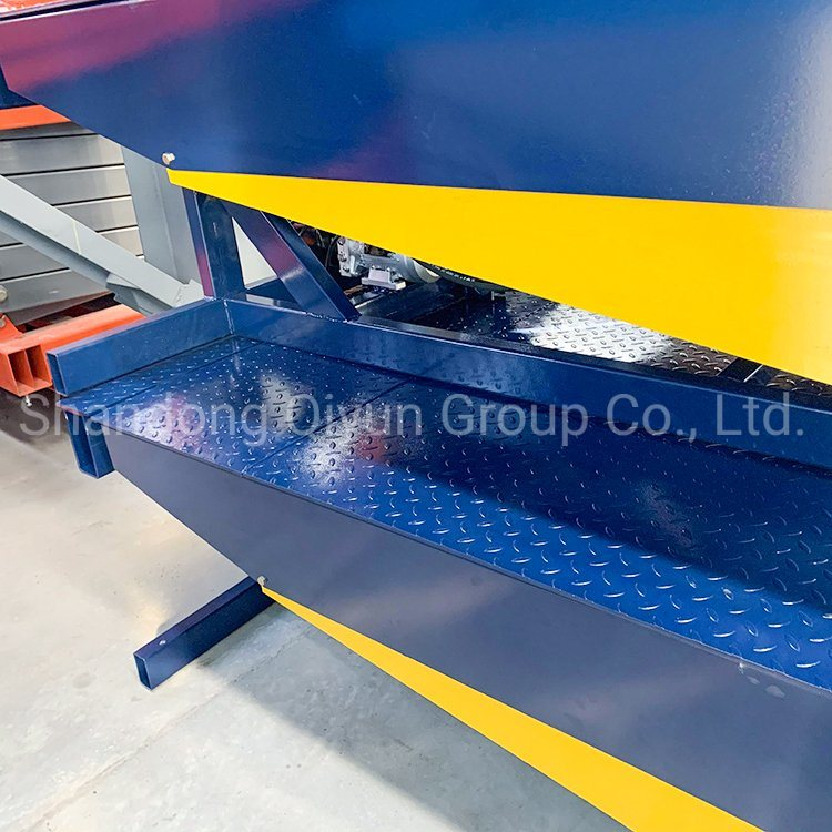 Container Dock Ramp Stationary Hydraulic Dock Leveler with Ce(图4)