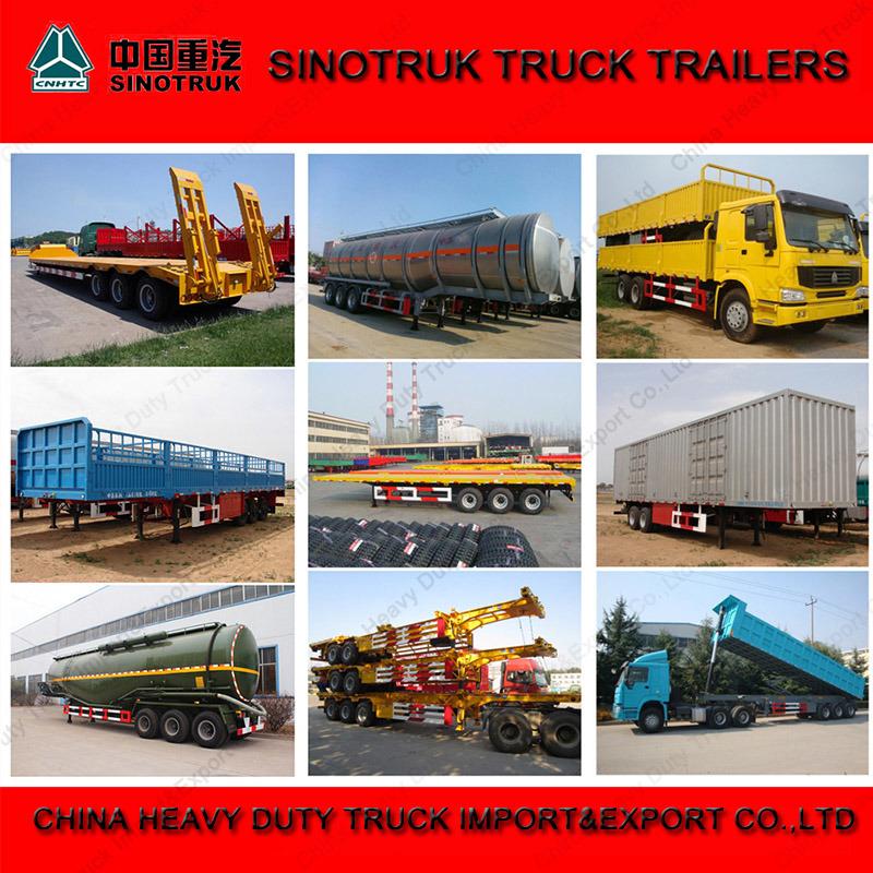 Sinotruk Truck Trailer Manufacturers Flatbed Co<em></em>ntainer Semi Trailer for Sale