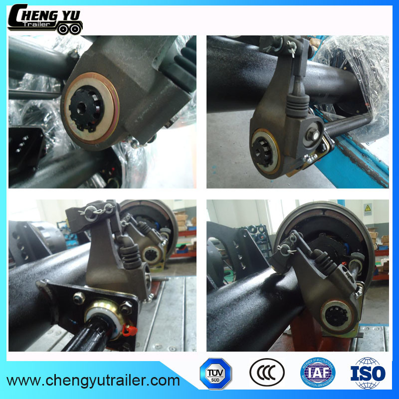 12t Double Wheel Trailer Axle for Chengyu Trailer