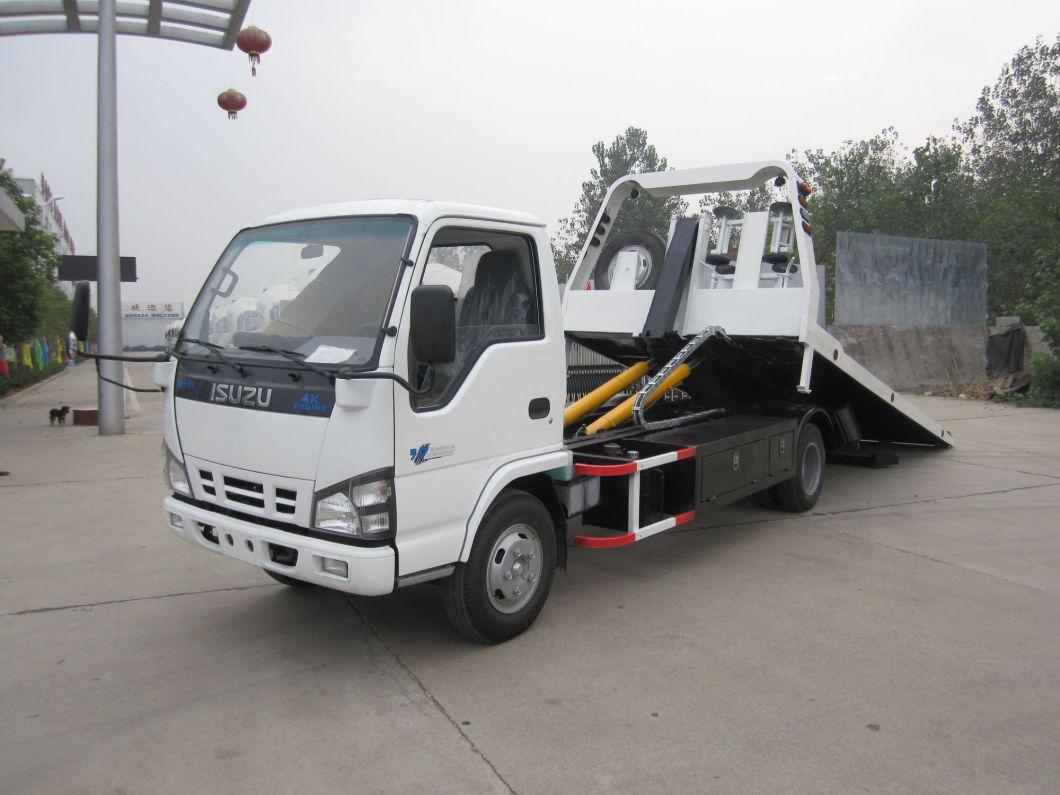 Isuzu 600p 120HP 5ton Rollback Tow Truck Wrecker Truck