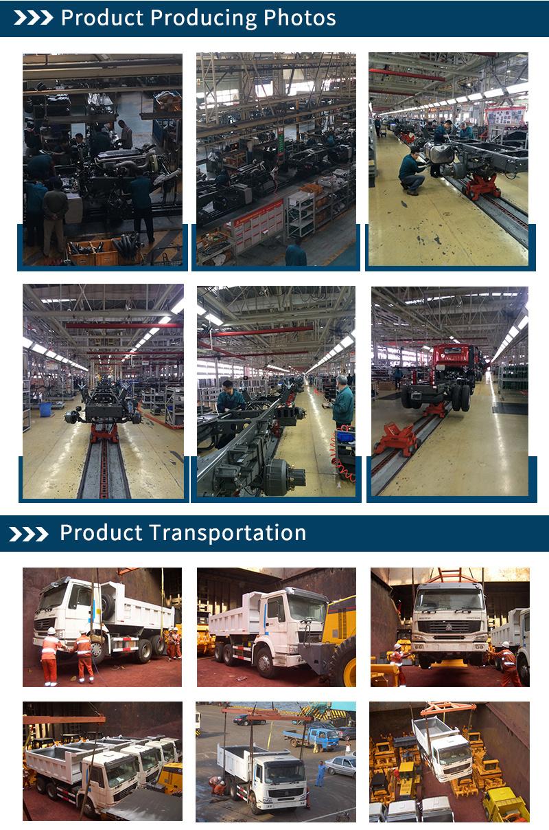 New Sinotruk HOWO 6X4 371HP 60ton Mining Tipper Truck Dumper Truck