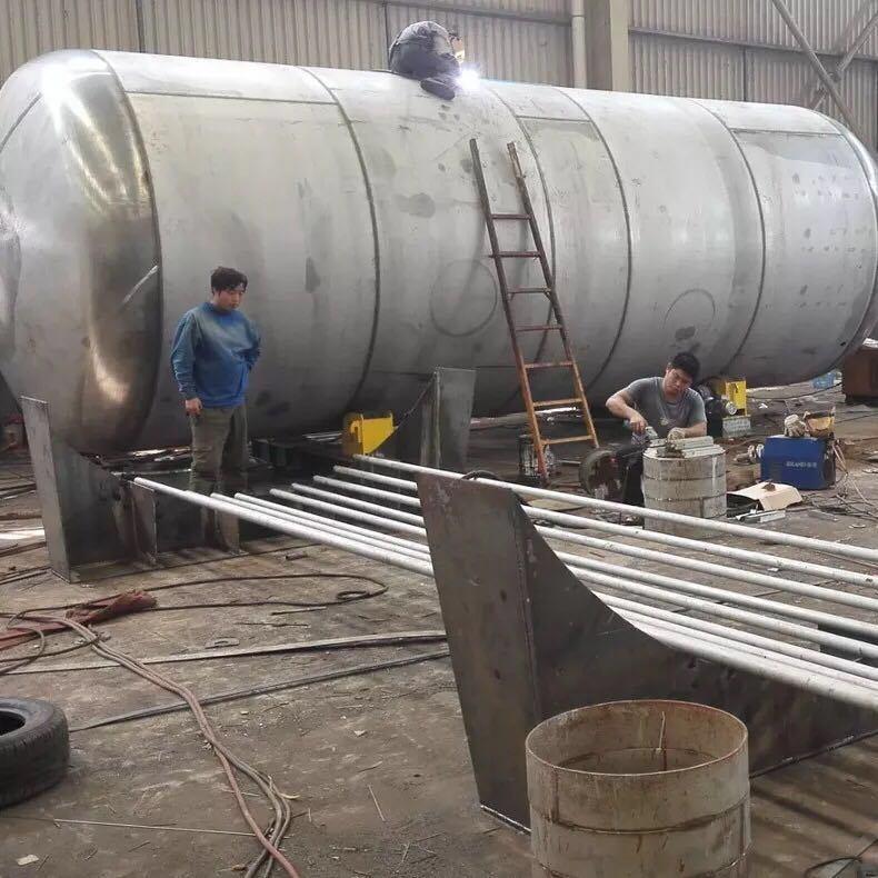 Stainless Steel Liquid Kerosene Oil Storage Tank Chemistry Industry 20000L, 40000L Gasoline Methanol Aviation Jet Fuel Customize Vertical Horizontal