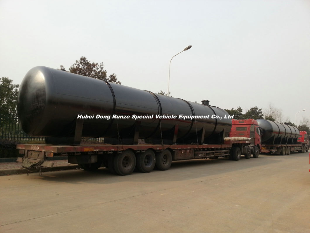Acid Storage Tank for Oil Fied Chemical Co<em></em>ntain Hydrochloric Acid 120cbm Horizontal