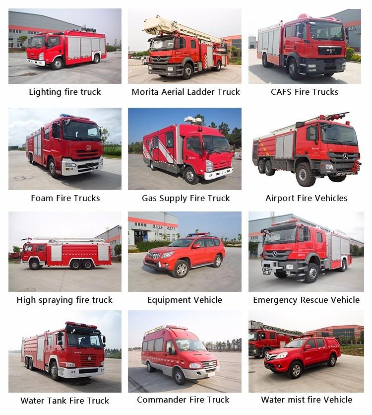 Do<em></em>ngfeng 1.8cbm - 4cbm Fire Trucks for Sale