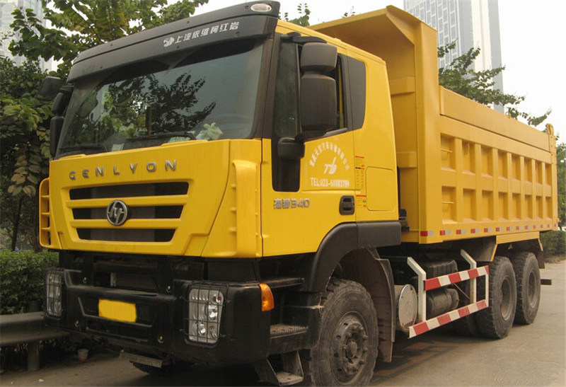 Made in China Iveco Genlyon 6X4 Dump Truck