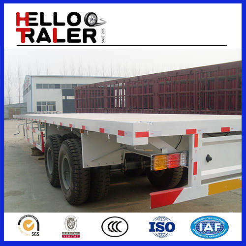 40feet Flatbed Trailer Co<em></em>ntainer Semi Trailer 40ftflatbed Trailer