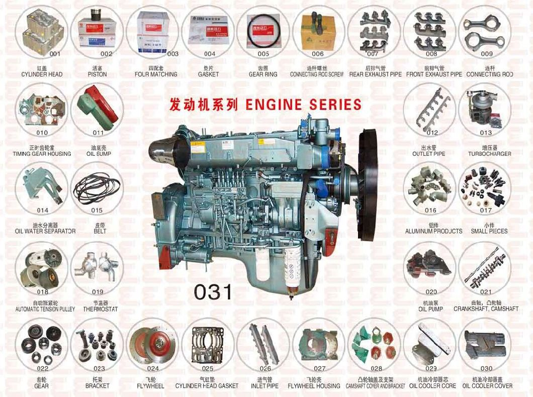 HOWO Spare Parts Hydraulic Oil Pump 1011-00220 for Sinotruk Engine
