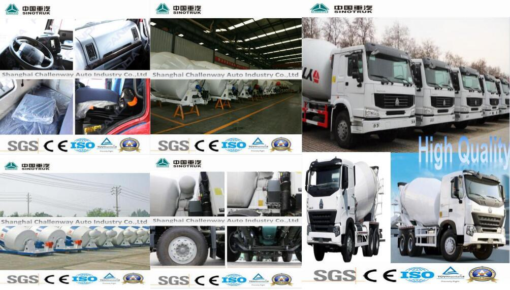 Low Price HOWO T7h Mixer Truck with 8X4