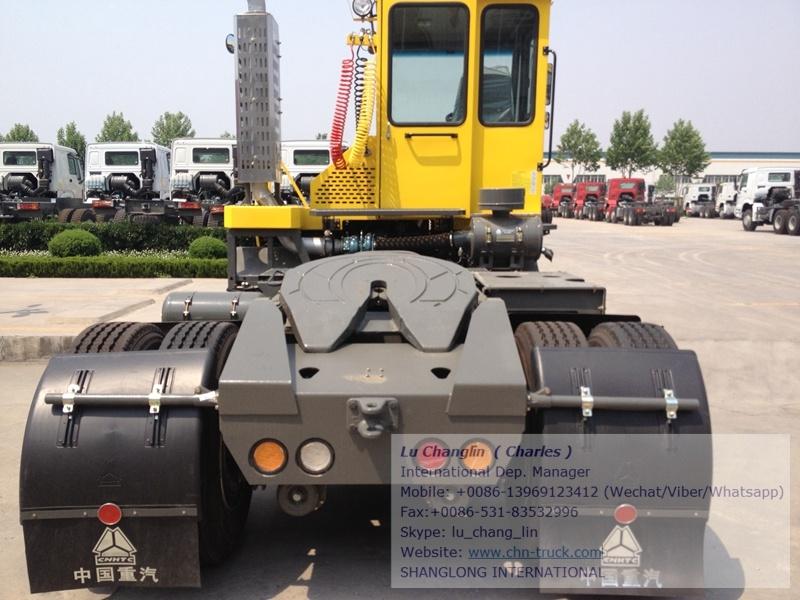 Sinotruk Hova Terminal Tractor Port Transformation Tractor