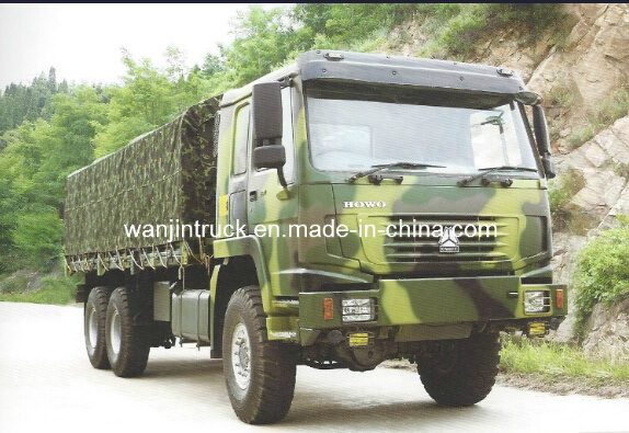 6*6 Sinotruk Troop Transportation Truck