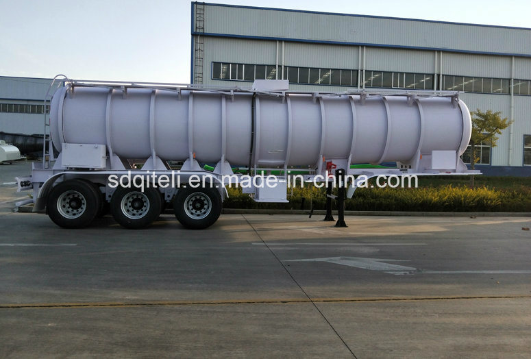 45000L Tri-Axle Fuel Truck Oil Tank Semi Trailer for Sale