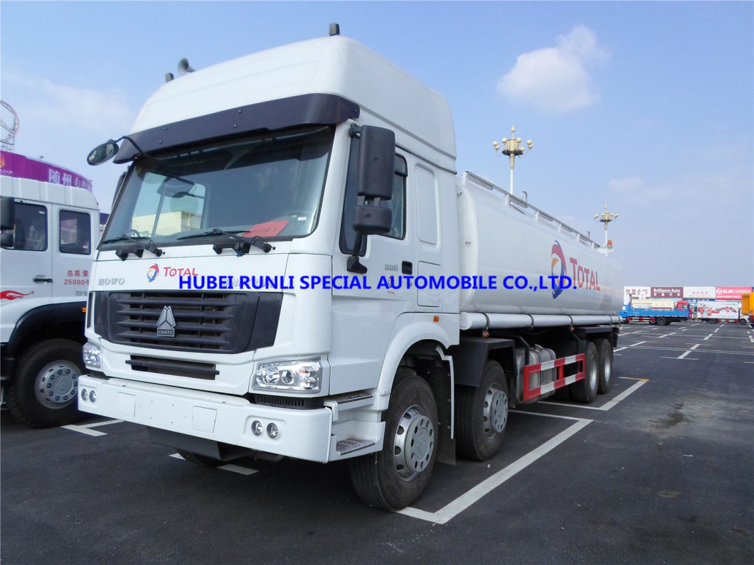 China Best Price Cnhtc HOWO 8X4 Fuel Tank Tanker Truck 30000L