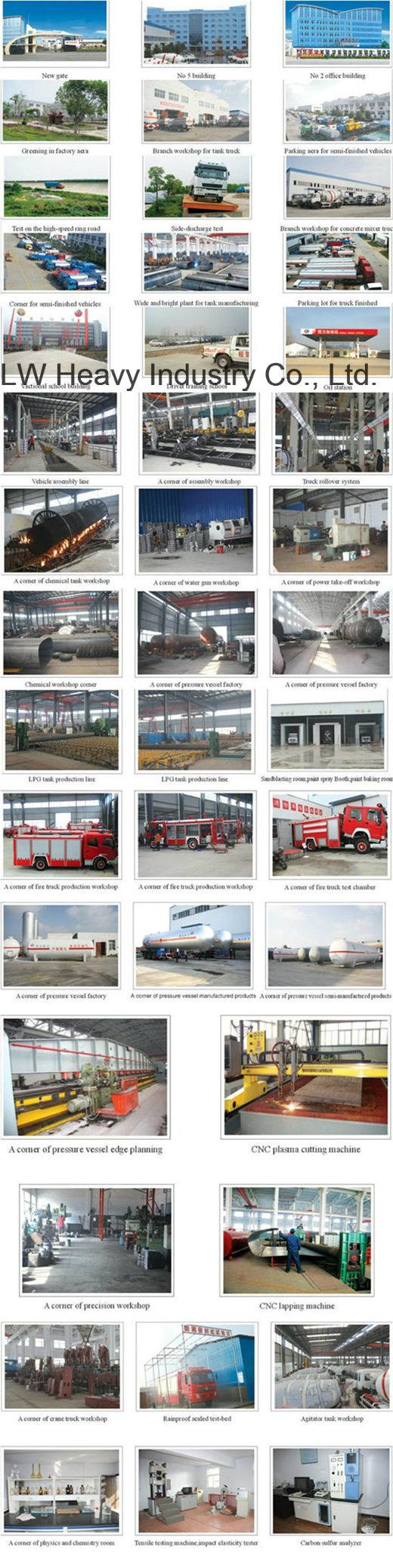 Standard 20 Tons 40m3 LPG Cylinder Gas Filling Station