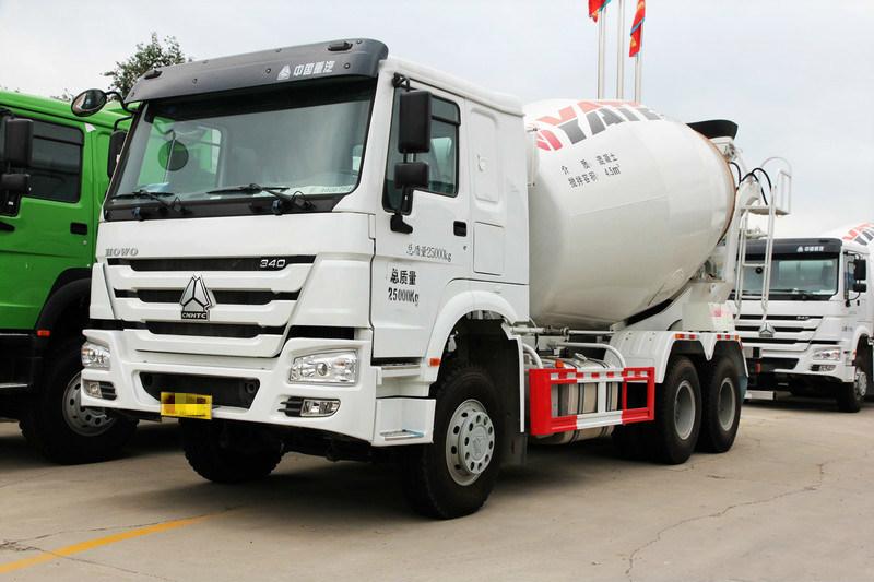 HOWO-7 6X4 340HP Co<em></em>ncrete Mixer Truck